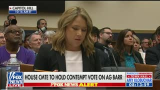 House panel moves forward with Barr contempt vote