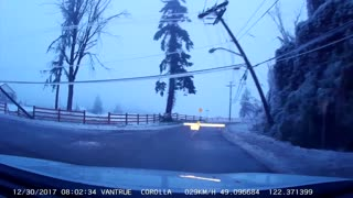 Ice Storm Aftermath - Video