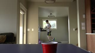 Incredible pong trick shot compilation - Video