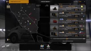 Best way to Pick Jobs in American Truck Simulator - Video