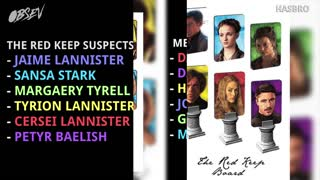 Game of Thrones Clue Game! - Video