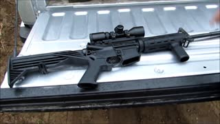 Soon Illegal Bump Stock That Fires Like Full Auto  - Video
