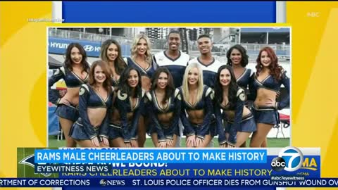 These Two Men To Make Cheerleading History At Superbowl