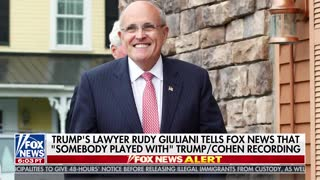 Rudy Giuliani: Experts say Trump-Cohen tape has been doctored - Video