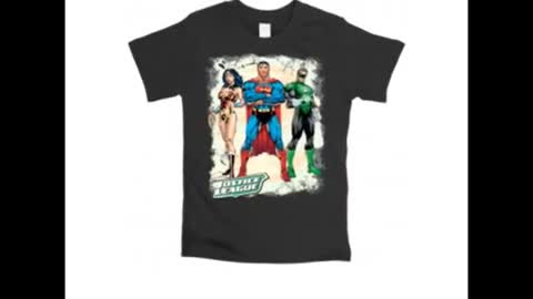 Justice League Printed T Shirts India