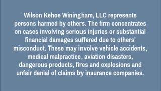 Indianapolis personal injury lawyer - Video