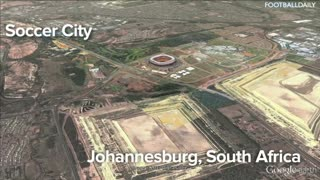 Top 10 BIGGEST Football Stadiums In The World - Video
