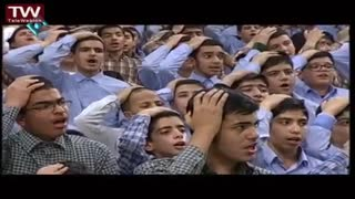 Students reciting poems for the Iranian supreme leader - Video