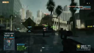 Battlefield Hardline Beta Multiplayer Gameplay - Video
