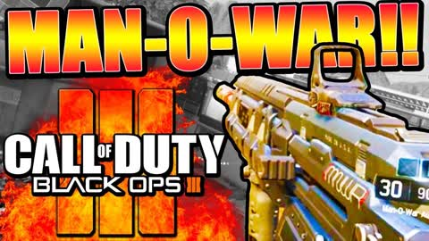 Black Ops 3 multiplayer gameplay: Man-O-War assault rifle