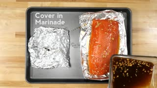 Mouthwatering maple-glazed salmon recipe - Video