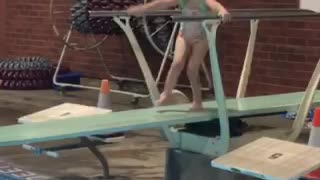 Diving Board Dancer!  - Video
