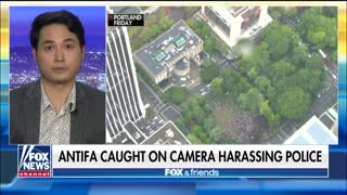Antifa Attacks Police At Climate Rally [VIDEO]