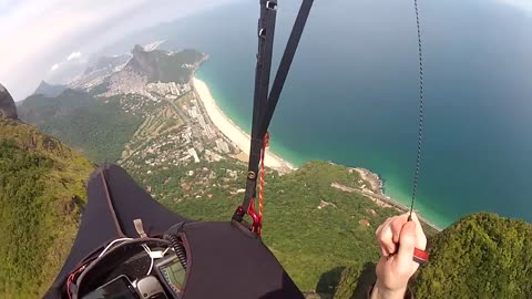 Speed flying, paragliding and wingsuit BASE jumping compilation