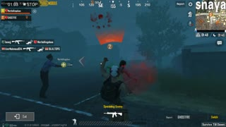 Surving Skills In Pubg Night Mode Zombie