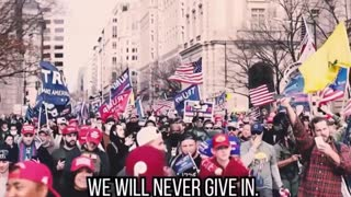 Donald Trump - We Will Never Give Up!
