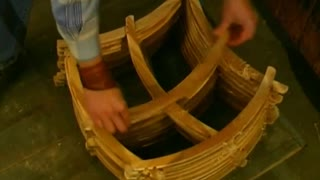 Making Traditional Wooden Coat Hangers