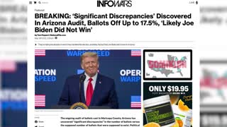 ARIZONA INVESTIGATION PROVES ELECTION STOLEN!