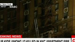 Deadly New York Fire Caused by Child Playing With Stove - Video