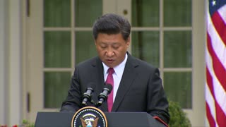 Obama, Xi talk cybersecurity, human rights - Video