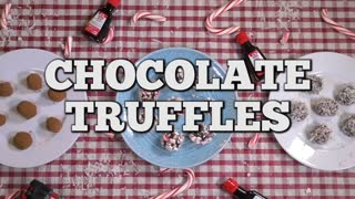 Three simple ways to make truffles - Video