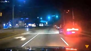 Dodge Driver Almost Crashes