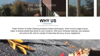 Fresh Cleaning - Gutter Cleaning Sydney - Video