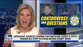 Ingraham: Email from Broward County Sheriff's Office urges staff to vigorously support Sheriff - Video
