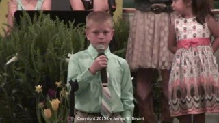 Special Service - Easter Youth Program, 2015