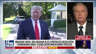Lindsey Graham: Senate should dismiss a Trump impeachment trial
