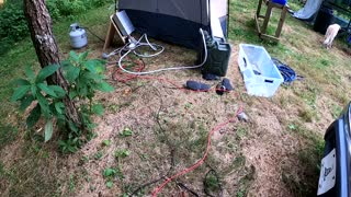 Shower Update - How to power your portable shower using your car battery