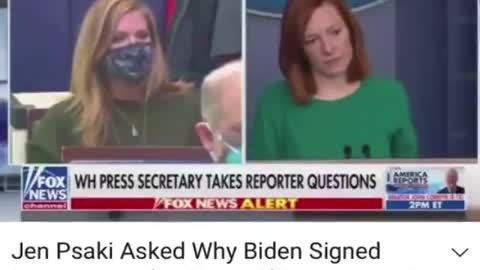Press Secretary Jen Psaki Asked Why Biden Signed EO Giving China Access To US Power Grid
