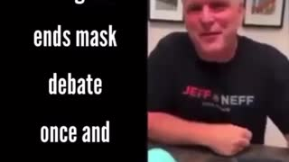 The truth about your dumbass masks