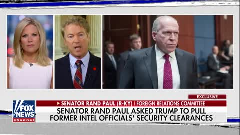 Rand Paul urges Trump to pull security clearances