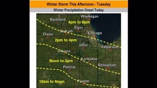 Weather Situation Update for 01/25/2021