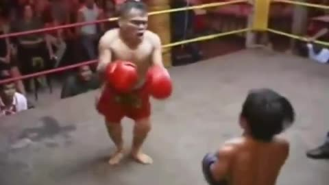 The most attractive funny match boxing planet