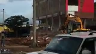 Wrong decision makes whole building damaged