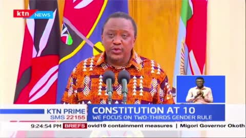 President Uhuru roots for Referendum |Constitution at 10