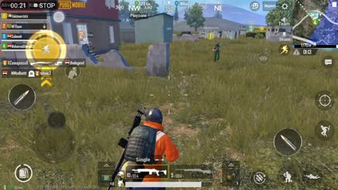 Three Full Drop In Pubg Game ' 3 Flare Gun Party '