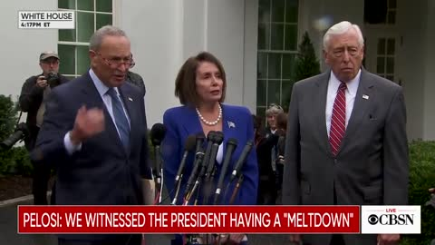 Relevant part of Pelosi, Schumer, Hoyer presser