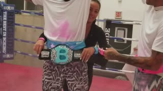 Best Gender Reveal Ever! MMA Style - Video