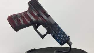 Red White and Blue Glock