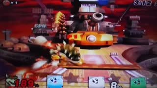 Super smash bros on the Wii.