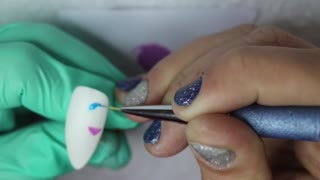 90's Flashback Nail Tutorial
