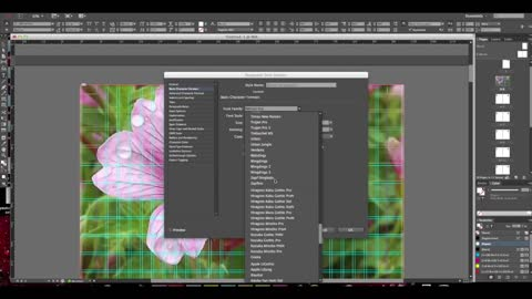 Make an e-brochure with Adobe Indesign cc