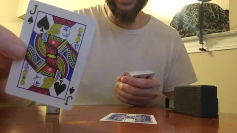 Man delivers powerful message through deck of playing cards