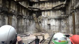 The Matrix Revolutions (Making Subway Tunnels In Russia) - Video