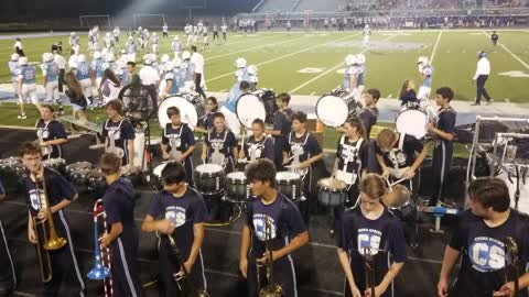 Trombone Routine with a Hint of Danger