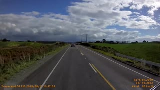 Overtaking an Oncoming Car