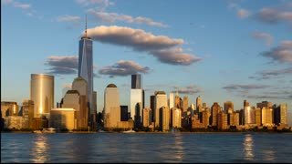Stunning New York City skyline timelapse: Day to night - Video